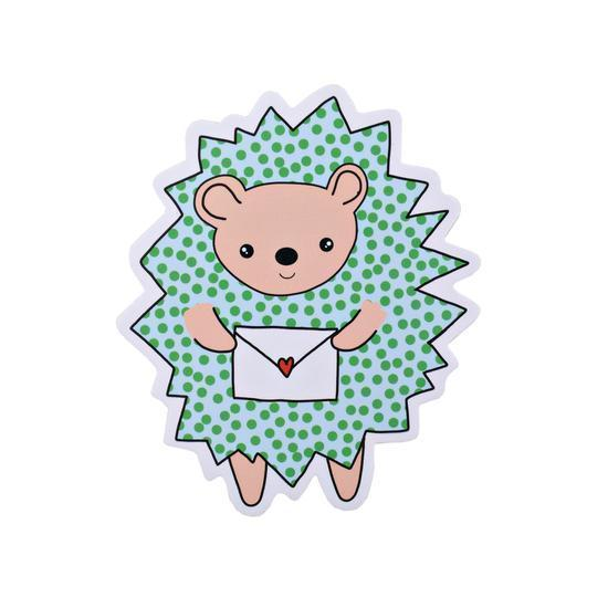 Pipsticks Vinyl Sticker Hedgehog
