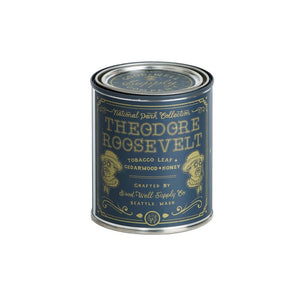 Good and Well Supply Co. Half Pint National Park Candle Theodore Roosevelt