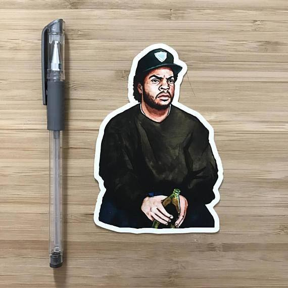 Yea Oh Greetings Ice Cube Sticker