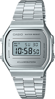 Casio Vintage Silver Band Silver Face