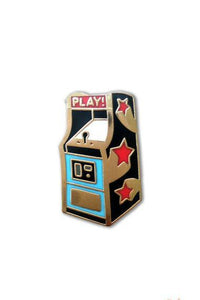 The Found Enamel Pin Arcade Game