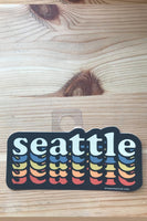 Acme Local Seattle Stacked Text Sticker