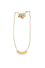 Load image into Gallery viewer, Baleen 5 Dot Necklace in Gold