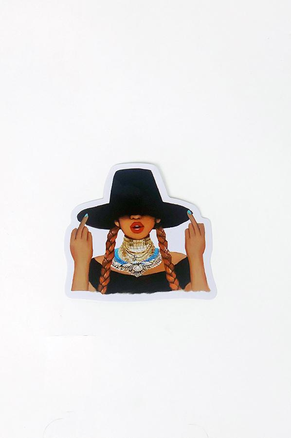 Yea Oh Greetings Beyonce Sticker