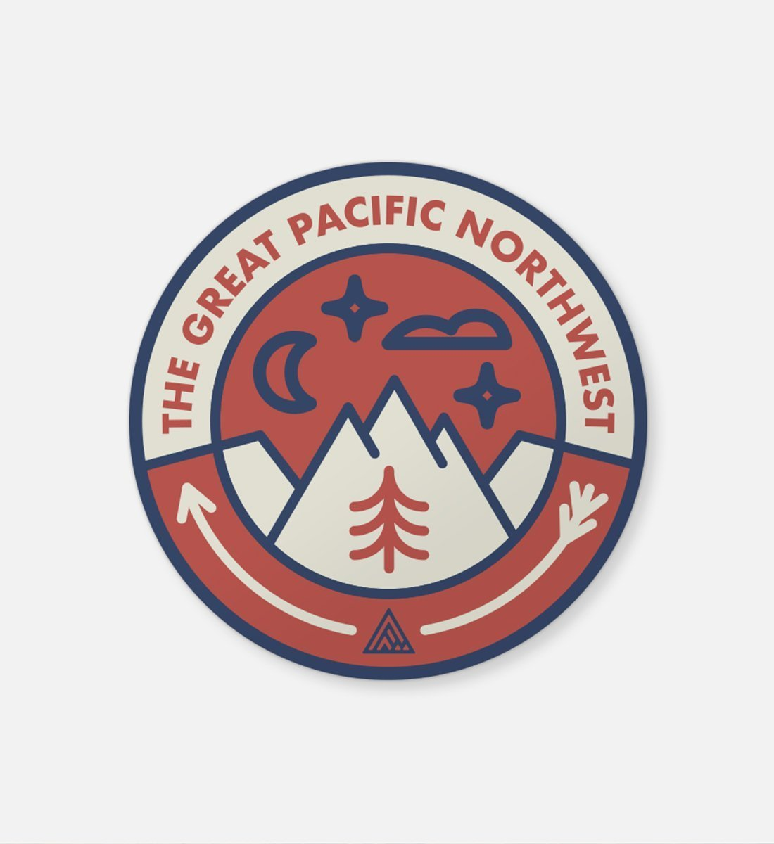 The Great PNW Campout Sticker
