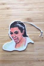 Load image into Gallery viewer, Yea Oh Greetings Crying Kim Air Freshener