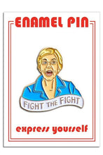 Load image into Gallery viewer, The Found Elizabeth Warren Pin