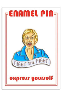 The Found Elizabeth Warren Pin