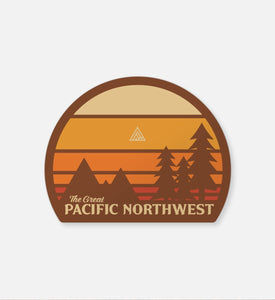 The Great PNW Camas Sticker