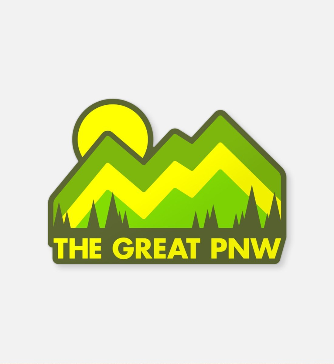 The Great PNW Expedition Sticker