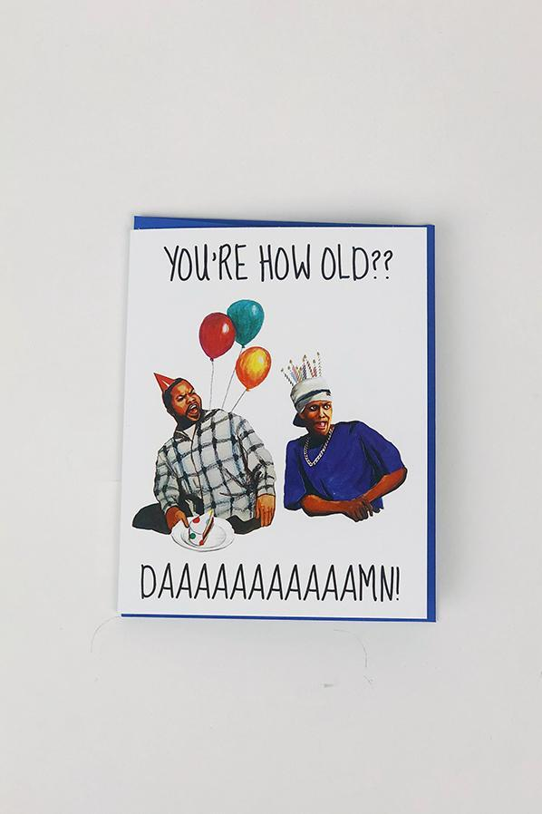 Yea Oh Greetings Friday Movie Birthday Card