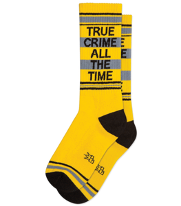 Gumball Poodle True Crime All The Time Socks