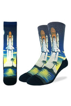 Load image into Gallery viewer, Good Luck Sock Men's Shuttle Launch