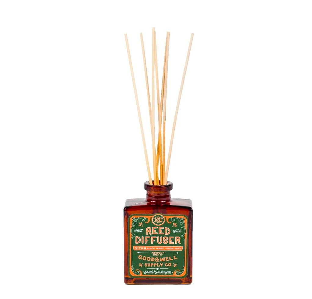 Good and Well Supply Co. Aromatic Reed Diffuser Sitka