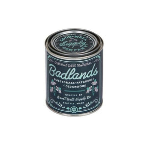 Good and Well Supply Co. National Park Pint Candle Badlands
