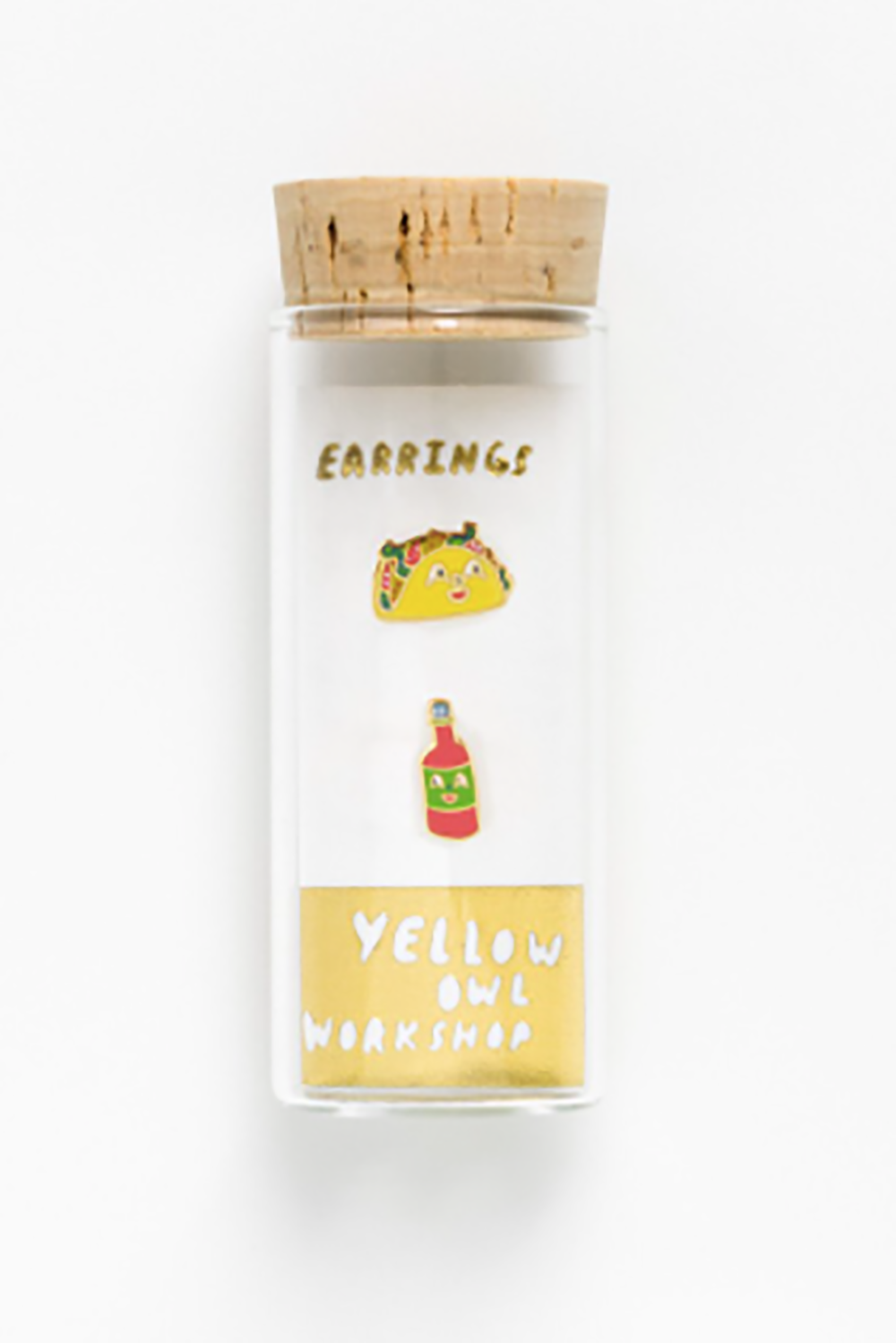 Yellow Owl Workshop Earrings Taco And Hot Sauce