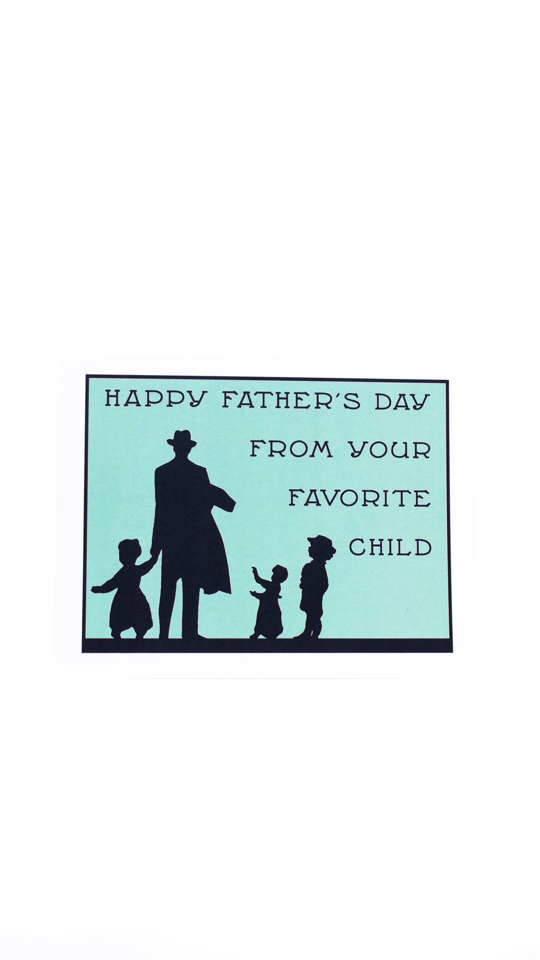 Seas and Peas Favorite Child Father's Day Card