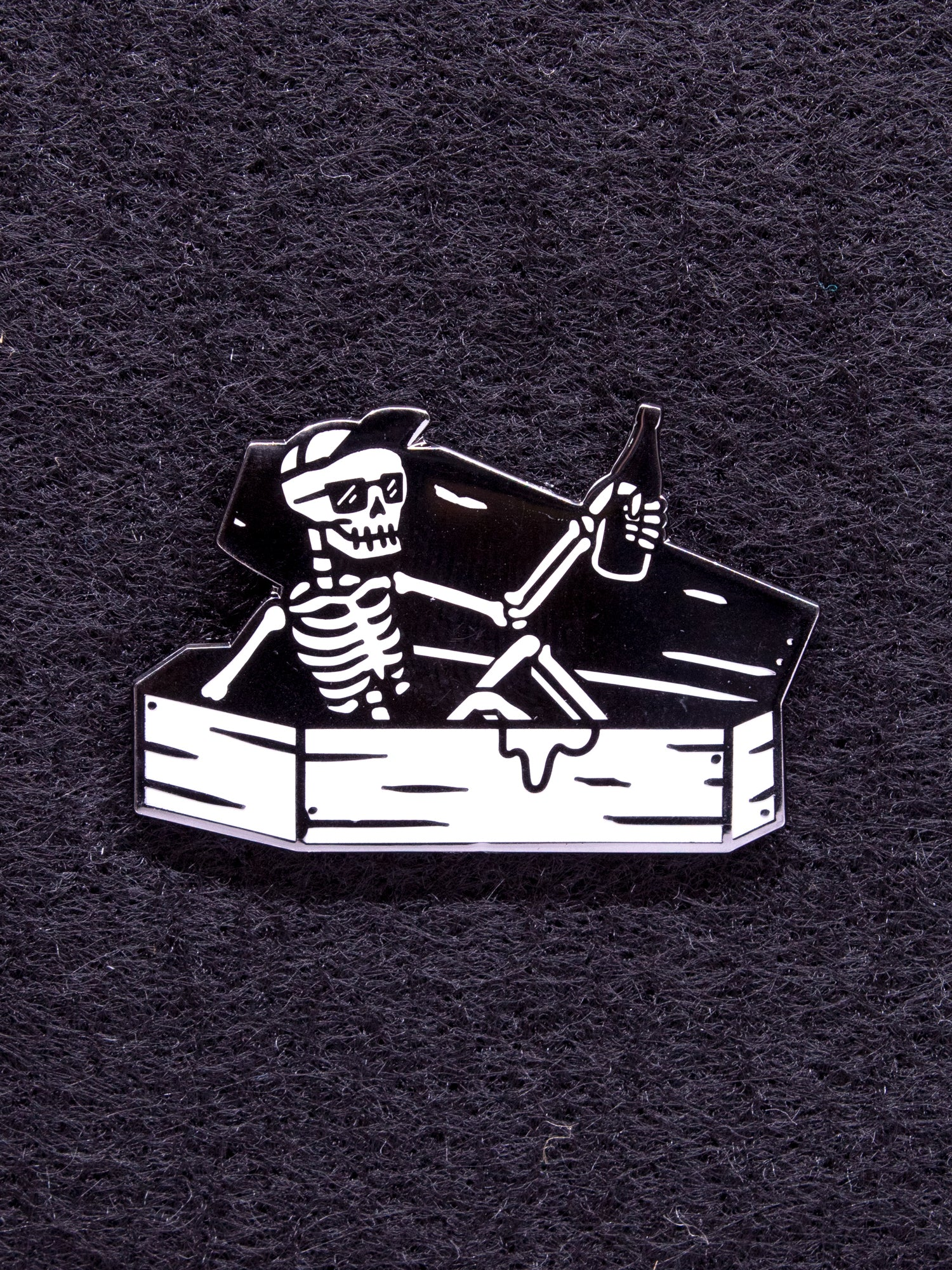 Strike Gently Co. Coffin Guy Pin