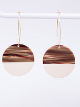Load image into Gallery viewer, Stoll & Heart Maddy Roundies Tan Earrings