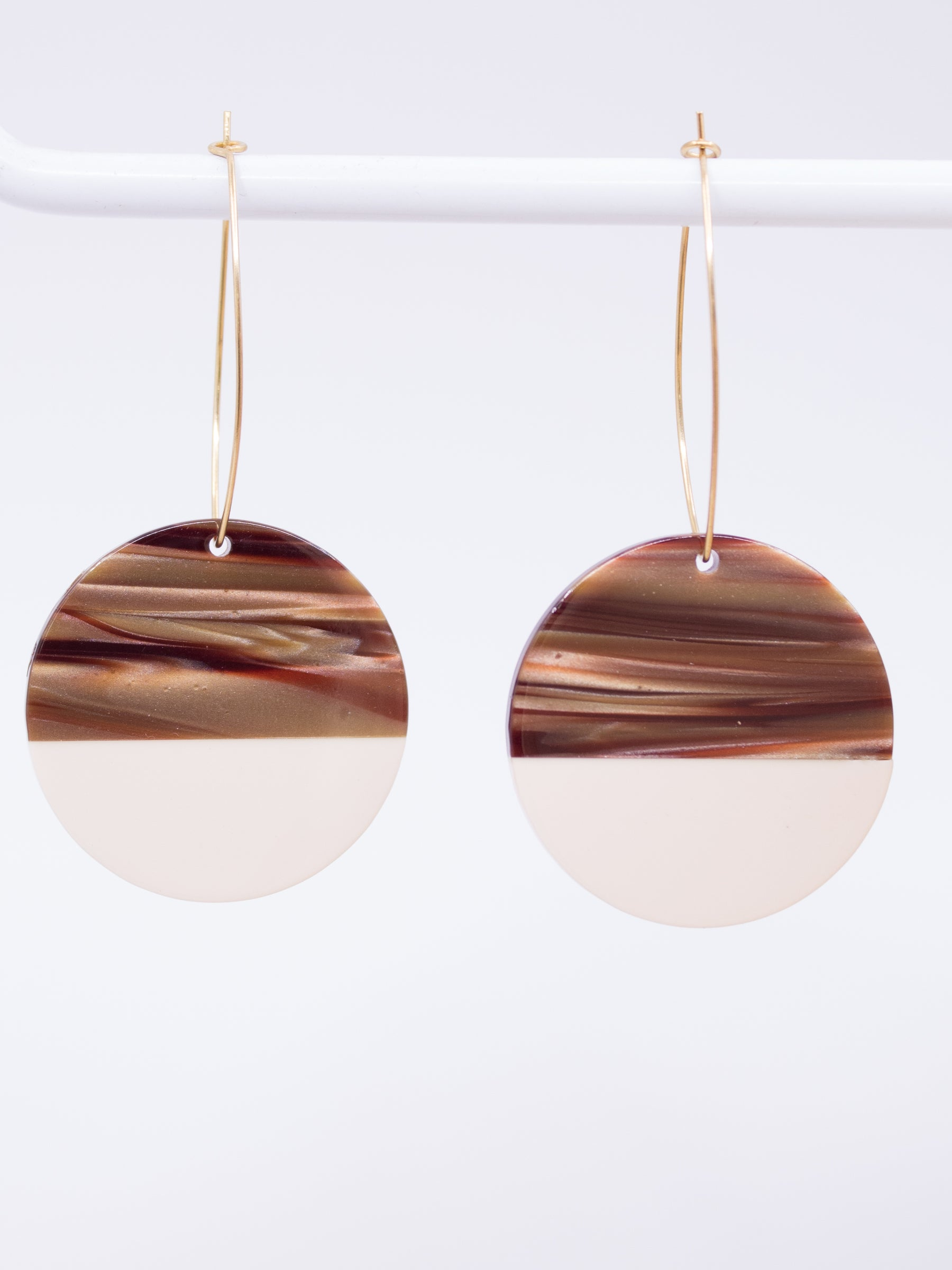 Stoll & Heart Maddy Roundies Tan Earrings