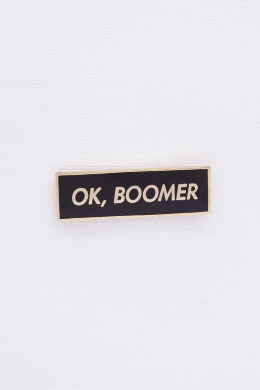Hype Pins OK, Boomer Pin Black