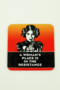 Jim Spinx Coaster Woman's Resistance