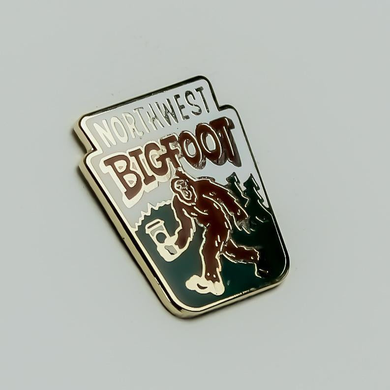 Kimberlin Northwest Bigfoot Enamel Pin