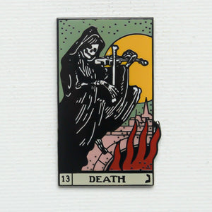 Strike Gently Co. Death Card Pin