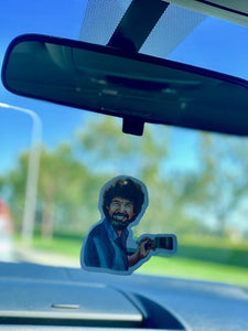 Yea Oh Greetings Bob Ross Air Freshener