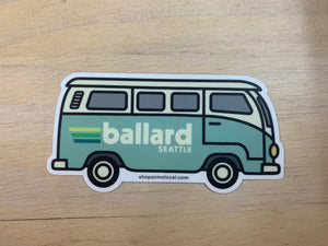 Acme Local Ballard VW Bus Sticker Mint