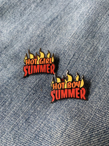 Heroes For Hire Hot Boy Summer Pin