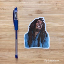 Load image into Gallery viewer, Yea Oh Greetings Bob Marley Sticker
