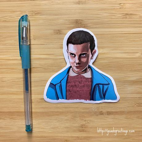 Yea Oh Greetings Eleven Sticker