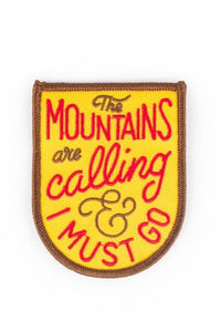 Kimberlin The Mountains Are Calling Patch