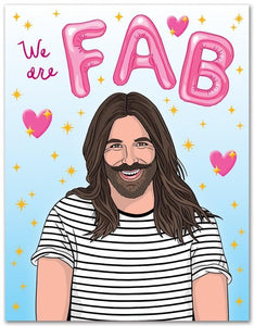 The Found Greeting Card JVN We Are Fab Valentine's Day