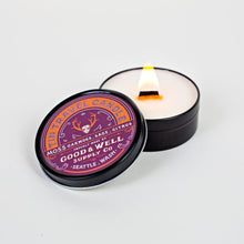 Load image into Gallery viewer, Good and Well Supply Co. 4 oz. Moss Tin Travel Candle