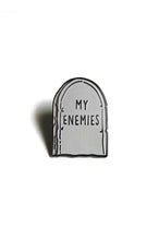 Load image into Gallery viewer, Heroes For Hire Enamel My Enemies Pin