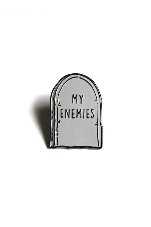 Heroes For Hire Enamel My Enemies Pin