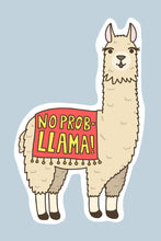 Load image into Gallery viewer, Turtle's Soup No Prob-Llama Vinyl Sticker
