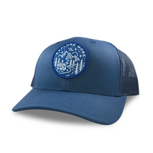 Load image into Gallery viewer, Northwest Vibes Explore More Hat Navy