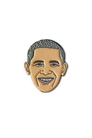 The Found Enamel Pin Barack Obama
