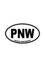 Load image into Gallery viewer, Stickers Northwest PNW Large Oval Sticker
