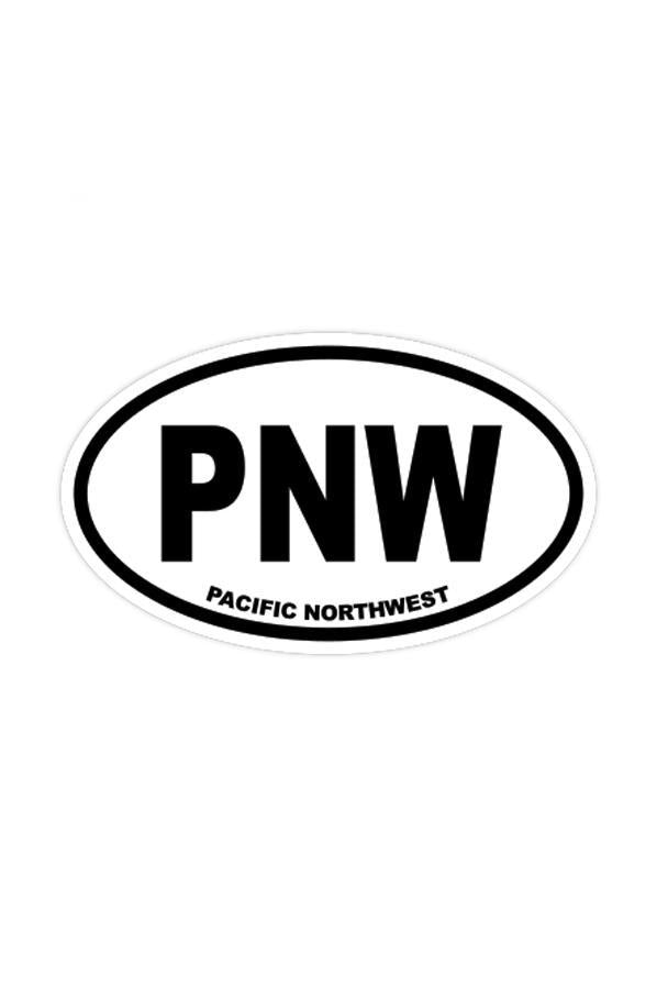 Stickers Northwest PNW Large Oval Sticker