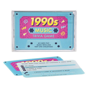 Ridley's 1990's Music Trivia Tape Quiz