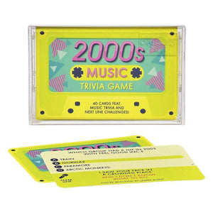 Ridley's 2000's Music Trivia Tape Quiz