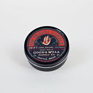 Good and Well Supply Co. 4 oz. Swift Tin Travel Candle