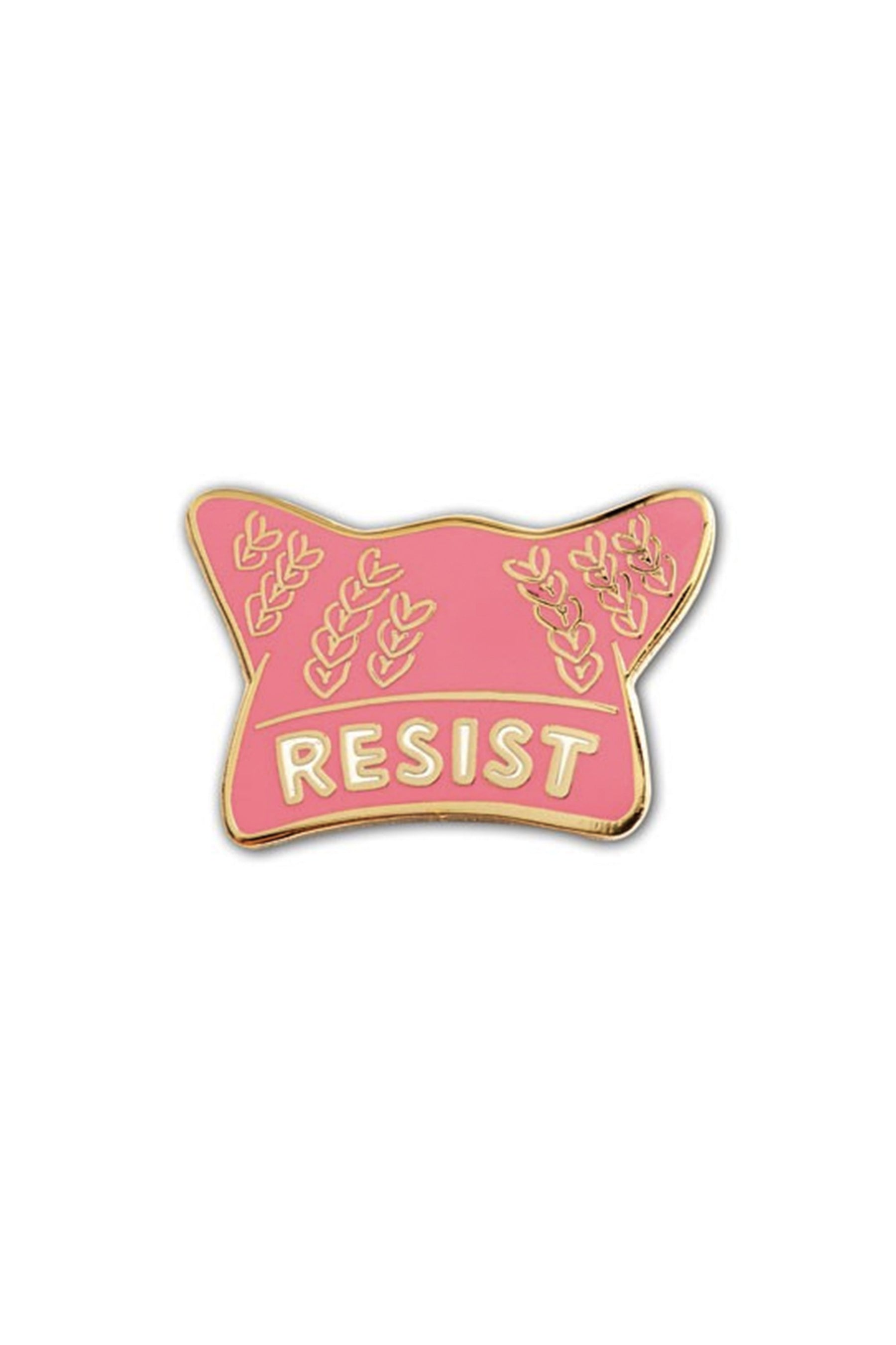 The Found Enamel Pin Resist Pussy Hat
