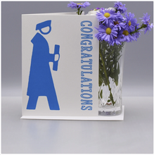 Load image into Gallery viewer, Seas and Peas A Simple Graduation Card