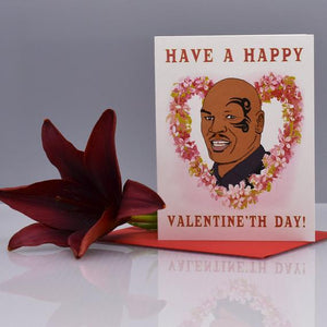 Seas and Peas Mike Tyson Valentine Card