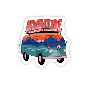Stickie Bandits Adventure Bus Sticker
